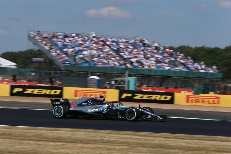 Hamilton in qualifying
