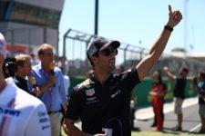 Ricciardo at Silverstone