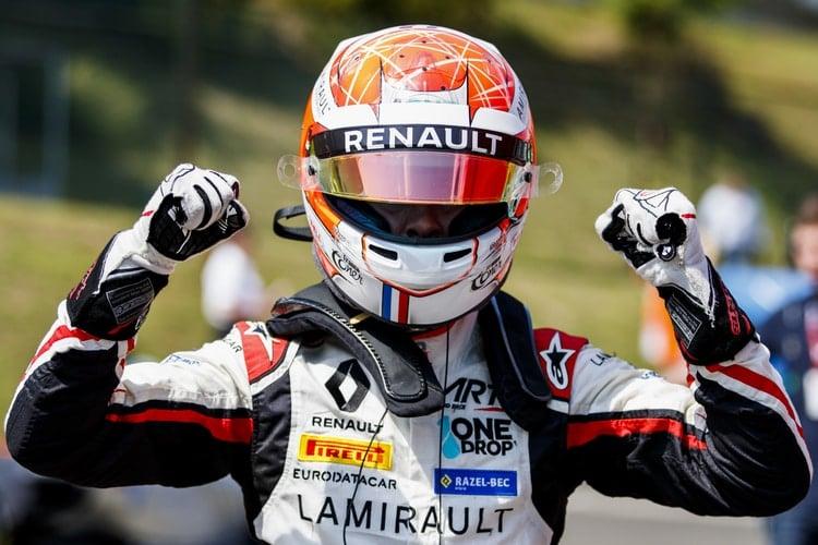 Anthoine Hubert: 2018 GP3 Series - Hungaroring