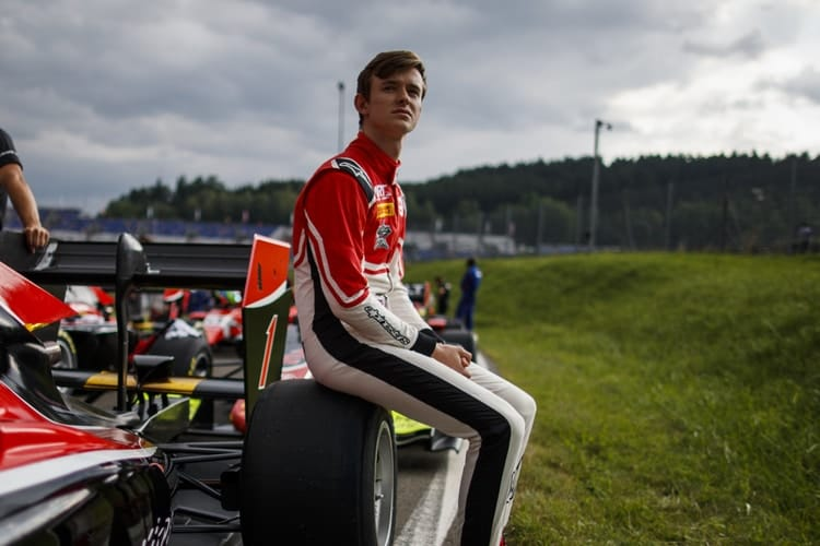 Callum Ilott: 2018 GP3 Series - Red Bull Ring