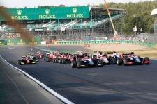 Race start: 2018 GP3 Series - Silverstone Sprint Race