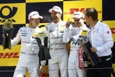 Paul di Resta, Gary Paffett and Lucas Auer: 2018 DTM Series - Zandvoort