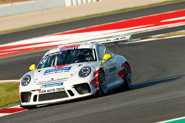 Nick Yelloly - Porsche Mobil 1 Supercup