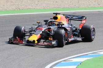 Daniel Riccardo - Aston Martin Red Bull Racing - Formula 1 - German GP