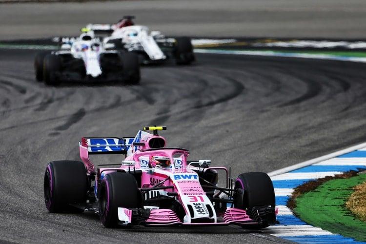 Esteban Ocon - Formula 1 - 2018 German GP