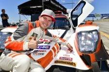 IMSA 2018 - Mobil 1 SportsCar Grand Prix #54 CORE autosport ORECA LMP2, P: Jon Bennett, Colin Braun Motul pole award
