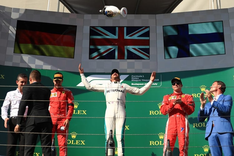 Lewis Hamilton - Formula 1 - 2018 Hungarian GP