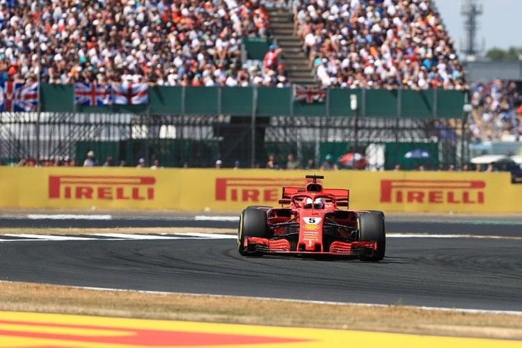 Sebastian Vettel - Formula 1 - 2018 British Grand Prix