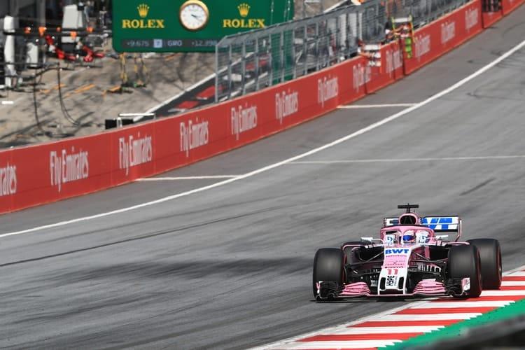 Sergio Pérez - 2018 Austrian GP - Formula 1