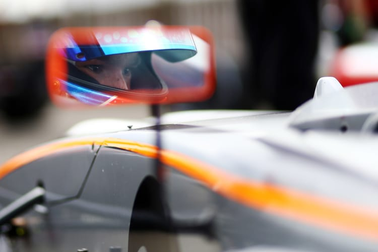 Ayrton Simmons (GBR) JHR Motorsport British F4
