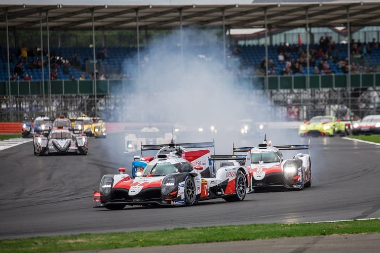 Toyota Gazoo Racing led a dominant lights to flag one-two, with the #8 crew keeping a clean sweep of victories