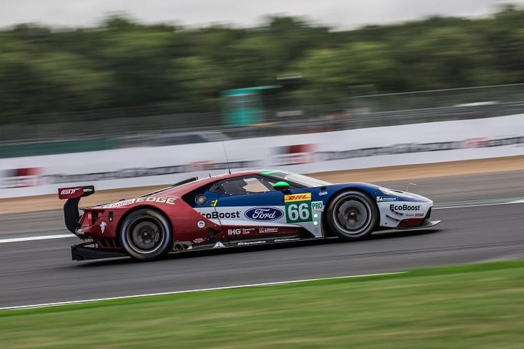 Ford Chip Ganassi Team UK are this week's favourites in GTE Pro, but Aston Martin Racing are giving them a run for their money
