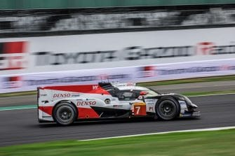 Toyota Gazoo Racing secured their third one-two of the season, keeping up their clean sweep of front row lock outs