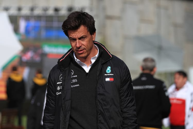 Toto Wolff - Mercedes AMG Petronas Motorsport