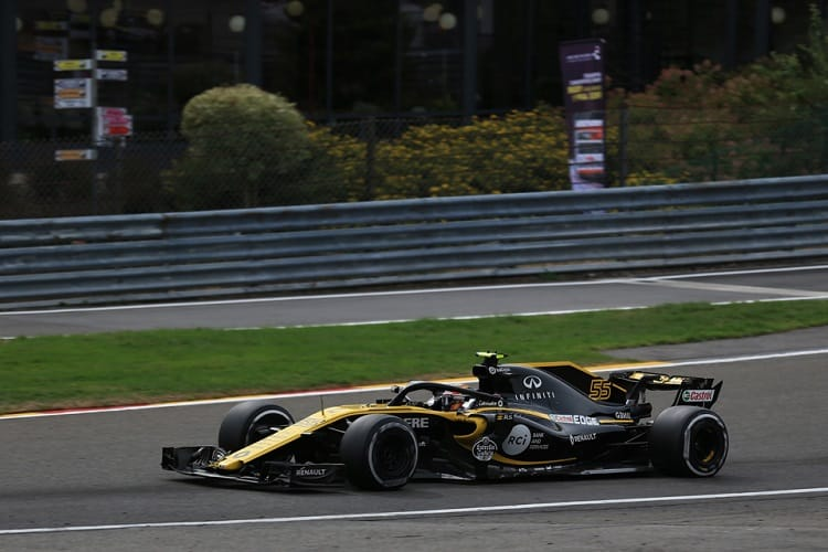 Carlos Sainz Jr. - Renault Sport Formula One Team - Spa-Francorchamps