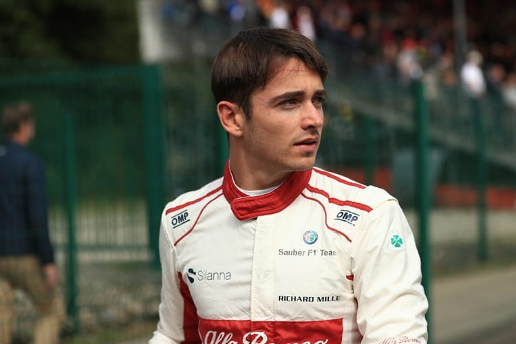 Charles Leclerc - Alfa Romeo Sauber F1 Team - Spa-Francorchamps
