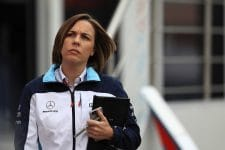 Claire Williams - Deputy Team Principal, Williams Martini Racing
