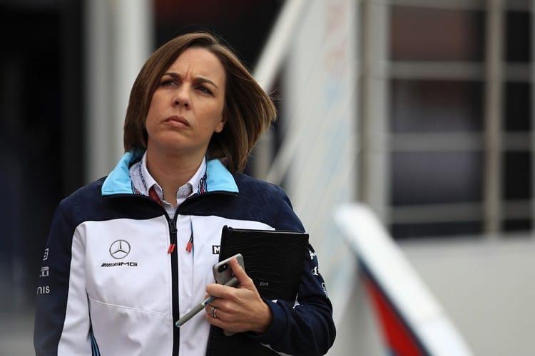 Claire Williams - Deputy Team Principal, Williams Martini Racing