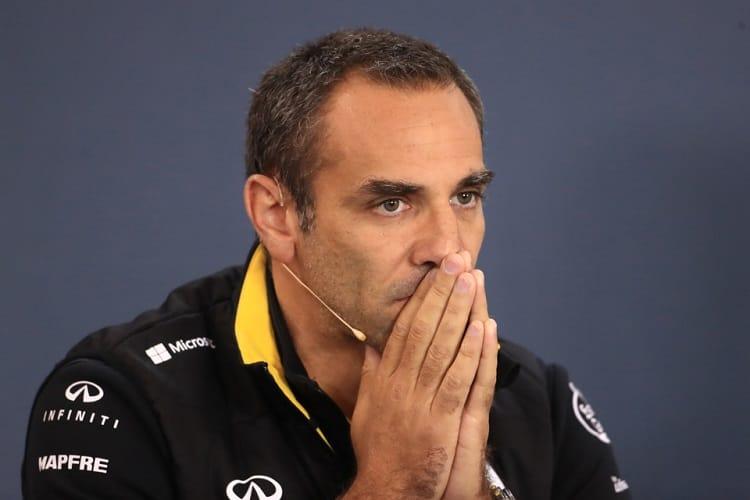 Cyril Abiteboul - Renault Sport Formula One Team - Spa-Francorchamps
