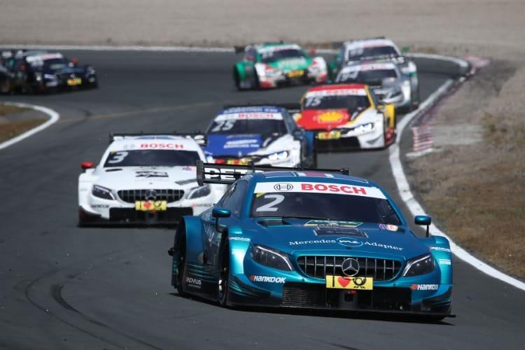 #2 Gary Paffett, Mercedes-AMG C 63 DTM, #3 Paul Di Resta, Mercedes-AMG C 63 DTM