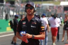 Daniel Ricciardo - Aston Martin Red Bull Racing - Hungaroring