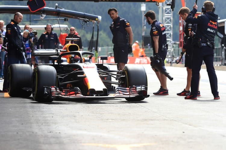 Daniel Ricciardo - Belgian Grand Prix - F1