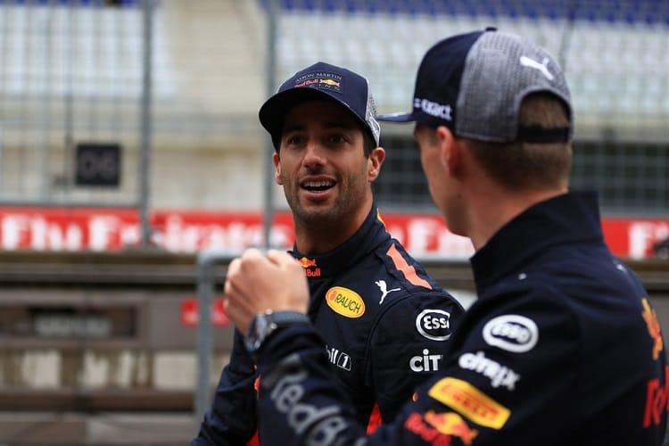 Daniel Ricciardo & Max Verstappen - Aston Martin Red Bull Racing - Red Bull Ring