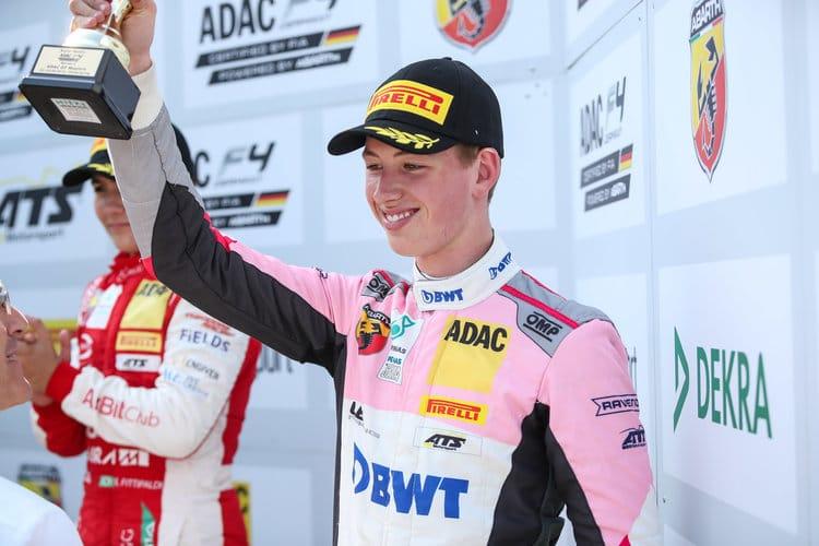 David Schumacher / ADAC F4 / Nurburgring