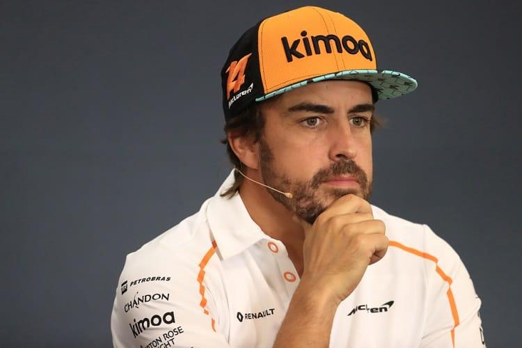 Fernando Alonso - McLaren F1 Team - Spa-Francorchamps