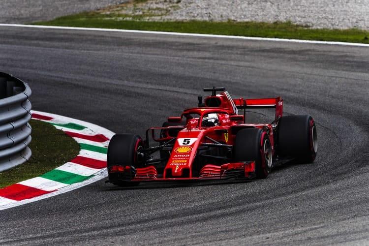 Sebastian Vettel - Italian Grand Prix - F1