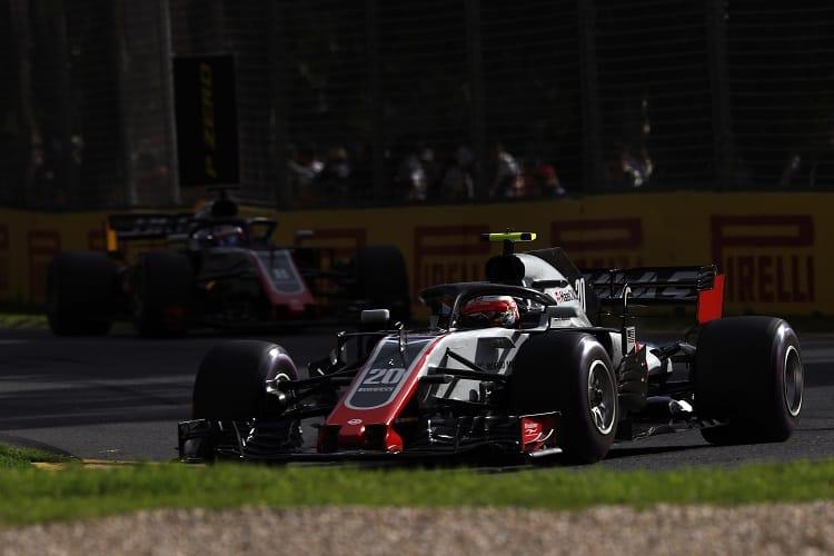Kevin Magnussen & Romain Grosjean - Haas F1 Team - Albert Park