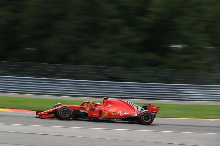 Kimi Raikkonen - Belgian Grand Prix - F1