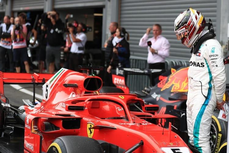 Lewis Hamilton - Belgian Grand Prix - F1