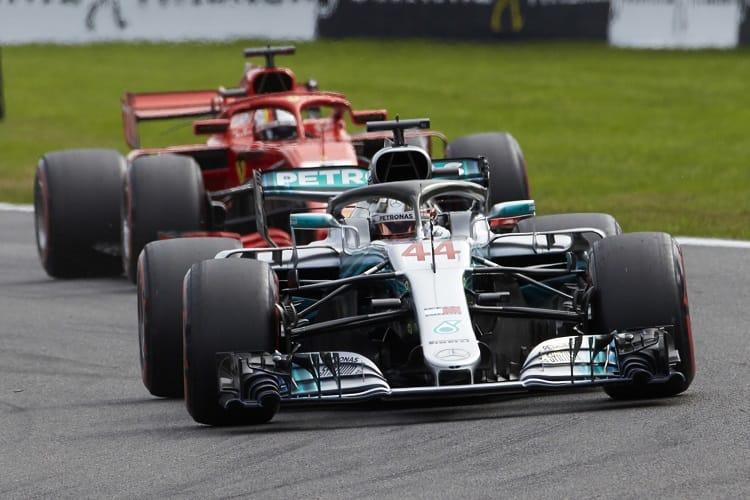 Lewis Hamilton & Sebastian Vettel - Mercedes AMG Petronas Motorsport & Scuderia Ferrari - Spa-Francorchamps