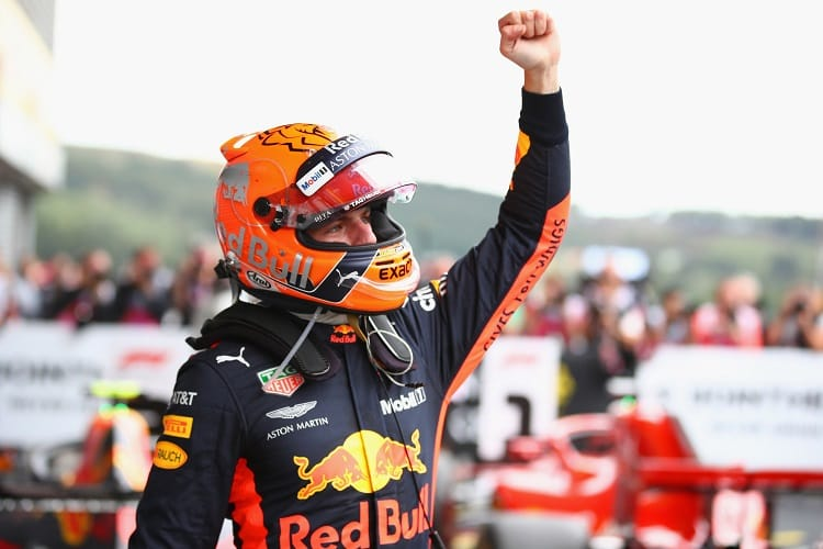 Max Verstappen - Aston Martin Red Bull Racing - Spa-Francorchamps
