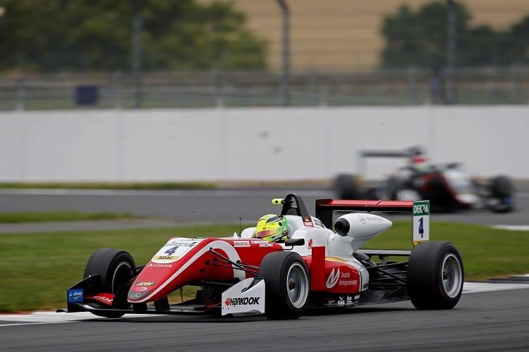 Mick Schumacher - Prema Theodore Racing - Silverstone
