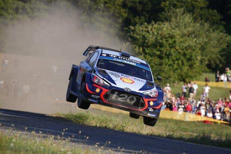 ADAC Rallye Deutschland, Thierry Neuville, Hyundai Shell Mobis World Rally Team