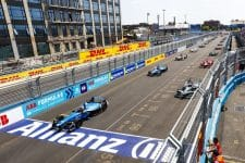 Sebastien Buemi, Mitch Evans- Formula E Grid- New York City