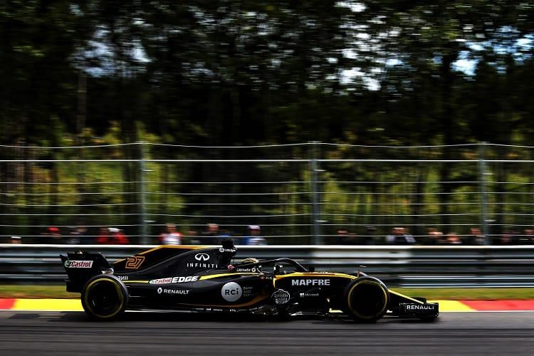 Nico Hülkenberg - Renault Sport Formula One Team - Spa-Francorchamps