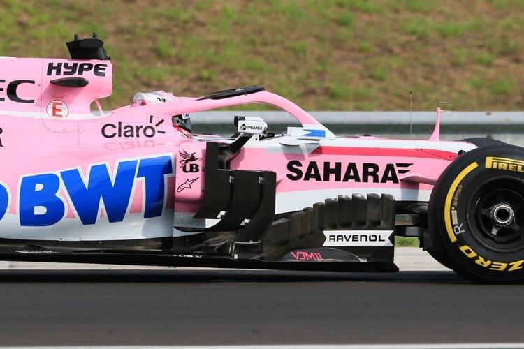 Nikita Mazepin - Sahara Force India F1 Team - Hungaroring