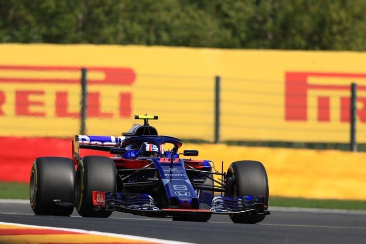 Pierre Gasly - Red Bull Toro Rosso Honda - Spa-Francorchamps