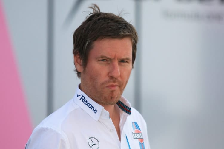 Rob Smedley - Williams Martini Racing - Head of Performance Engineering
