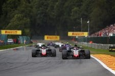 Romain Grosjean & Kevin Magnussen - Haas F1 Team - Spa-Francorchamps