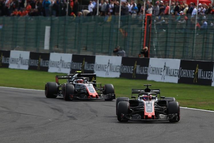 Romain Grosjean - Haas F1 Team - Spa-Francorchamps