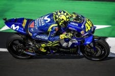 Valentino Rossi, Silverstone Friday practice 2018
