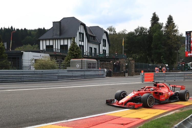 Vettel beats Hamilton in Belgian GP as Hartley misses points again