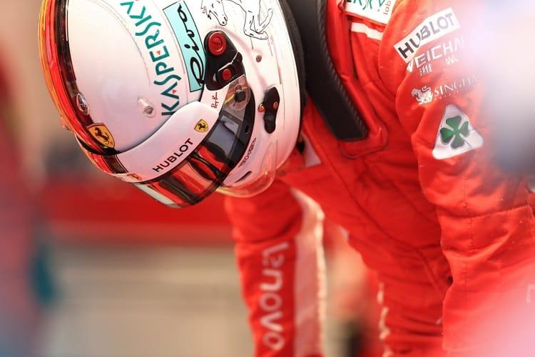 Sebastian Vettel - Scuderia Ferrari - Spa-Francorchamps