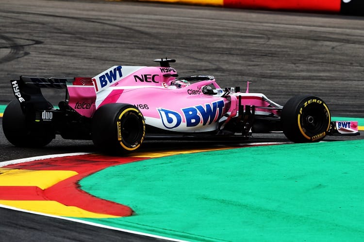 Sergio Pérez - Racing Point Force India F1 Team - Spa-Francorchamps