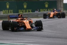 Stoffel Vandoorne & Fernando Alonso - McLaren F1 Team - Hungaroring