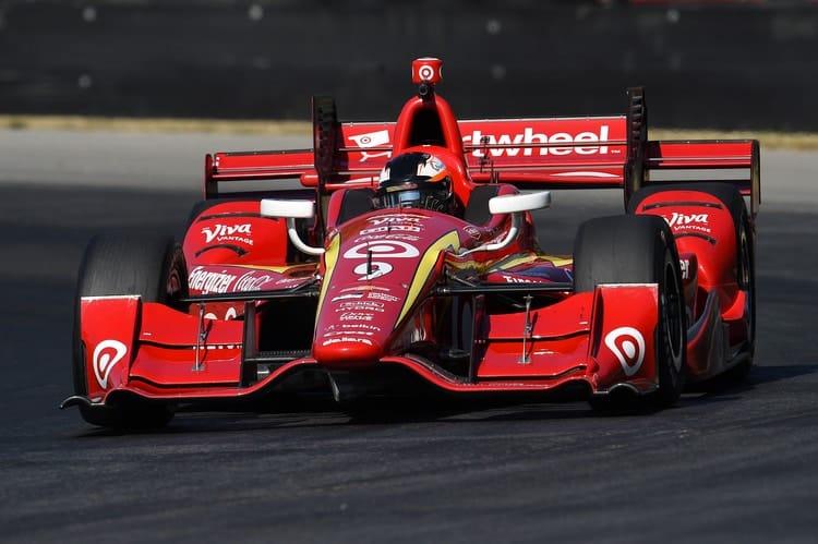 Felix Rosenqvist (SWE), Chip Ganassi Racing, Mid-Ohio Test, 2016 Verizon IndyCar Seres